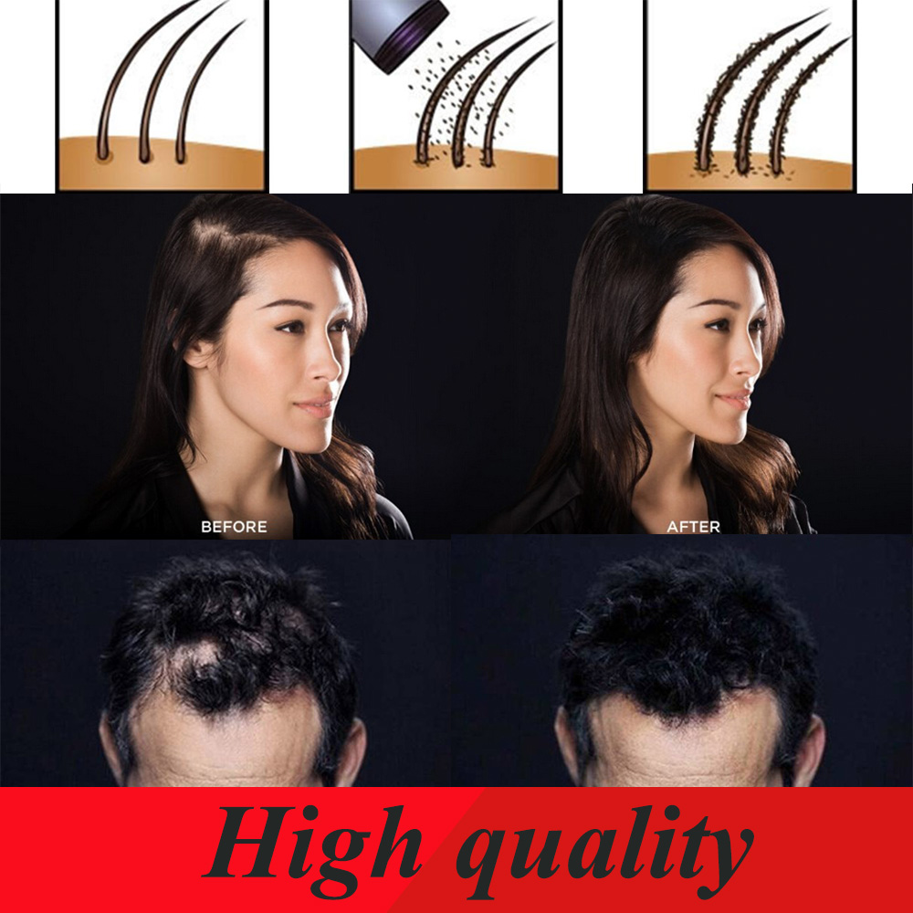 wholesale remarkable instant keratin hair building fiber hair growth