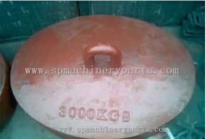 Foundry Custom Nice Quality Oval Marine mooring weight Maki In China