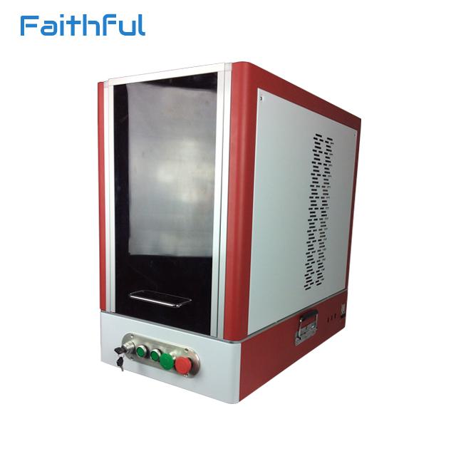 20W fiber laser marking equipment table type laser marking machine