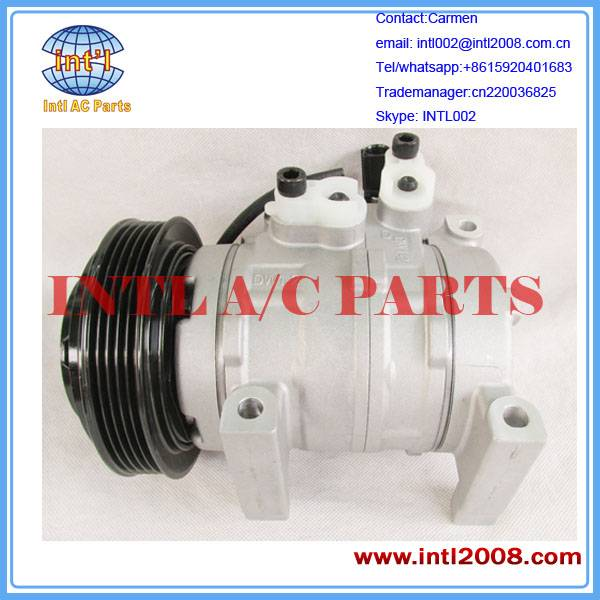 AUTO AIR COMPRESSOR 12V 5PK For Hyundai HB20 (DF11) 1.0 engine,2010,2011,2012,2013,2014 Good quality