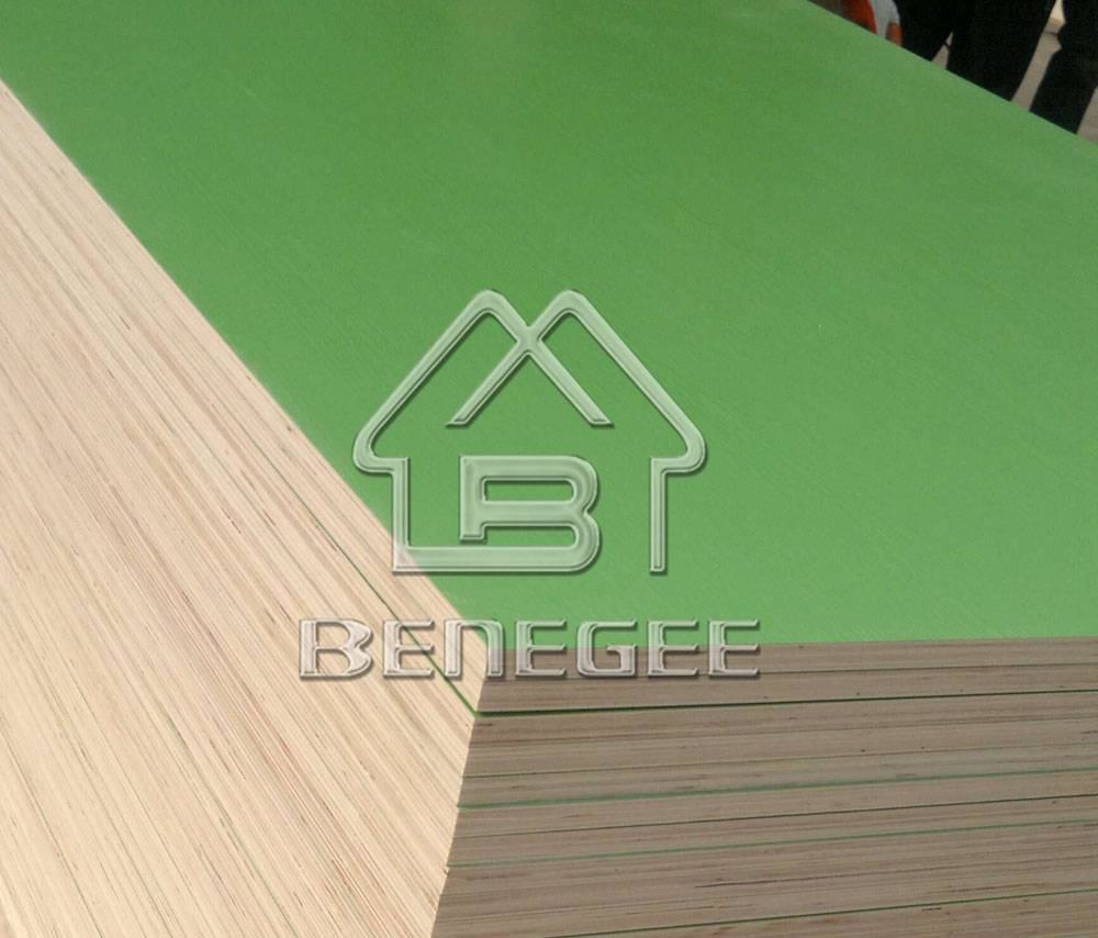 Melamine faced plywood in Shandong