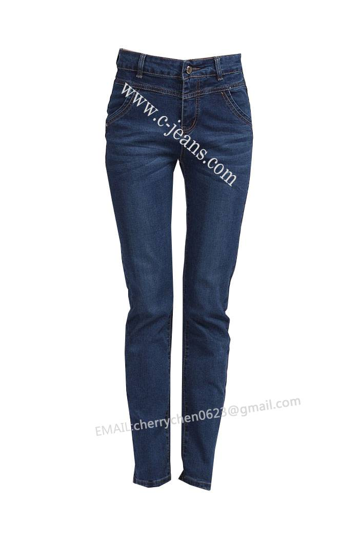Lady's Stylish Jeans. 2014 New Style Fashion Skinny Jeans, Women Jeans