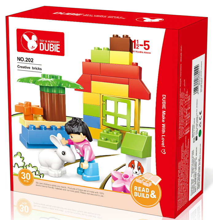 educational toys blocks children DIY bricks EN71 certified