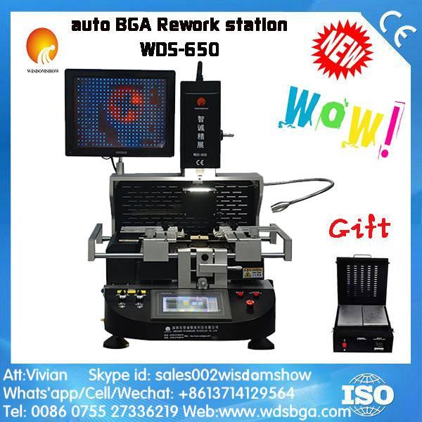 Semi auto PCB Soldering Station WDS-650 , Good BGA Repairing Tools