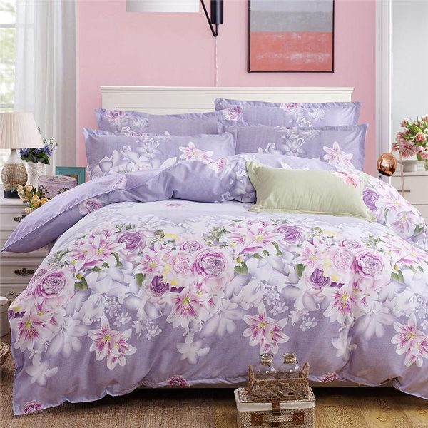 duvetcover, pillowcase and bedsheets in duvet set