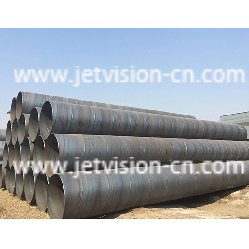 High Quality API 5L GR.B Carbon Spiral Welded SSAW Steel Pipe