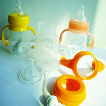 Baby feeding bottle, 3rd generation, food grade silicone material