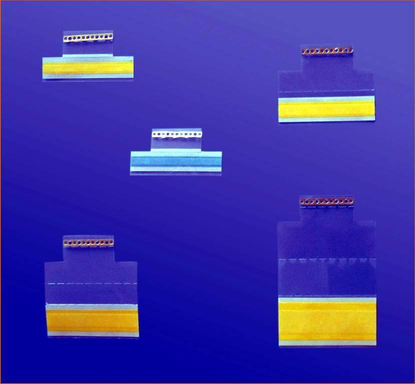 SMT splice tape with clip