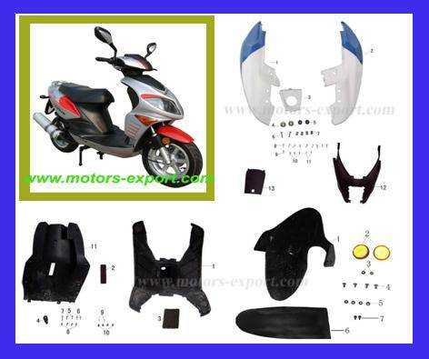 Moped Scooter Spare Parts