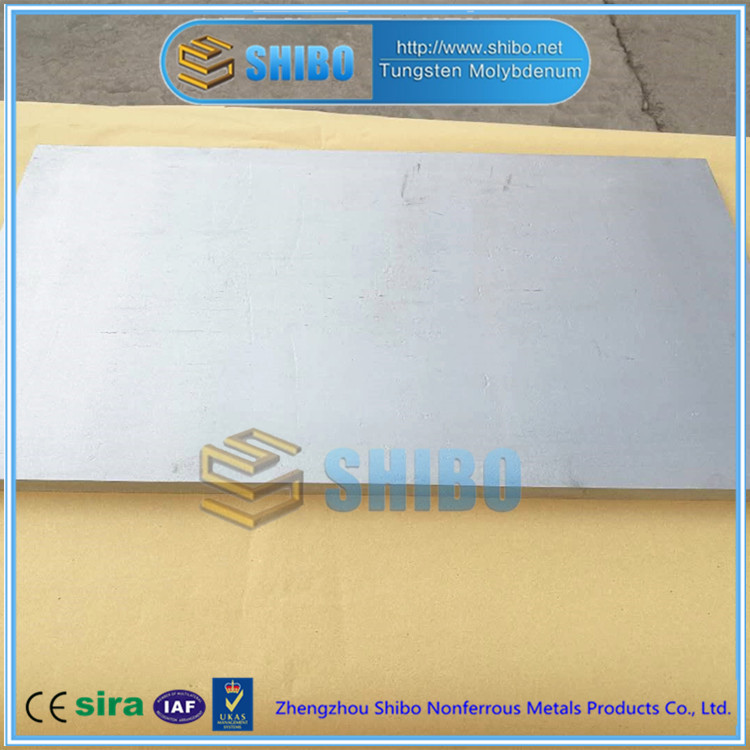 Factory Direct Sale High Purity 99.95% Moly plate with best price