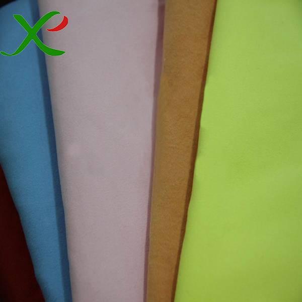 Microfiber Suede Fabric for bathrobe