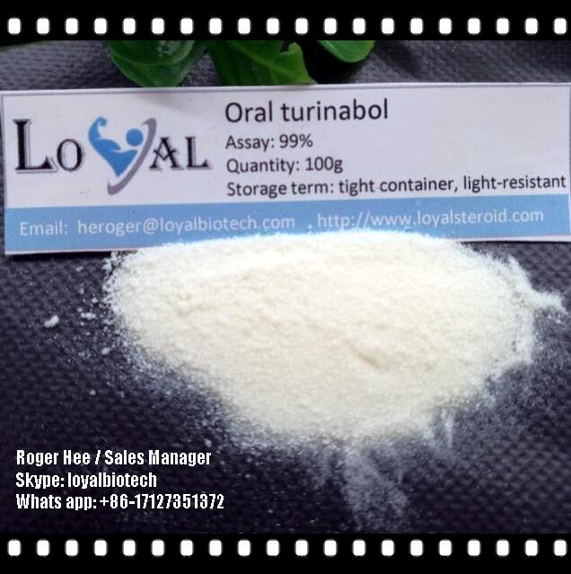 Wholesale Oral Turinabol Tbol Steroid Raw Steroid Powder