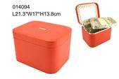 high quality PU leather cosmetic box for hot-selling export