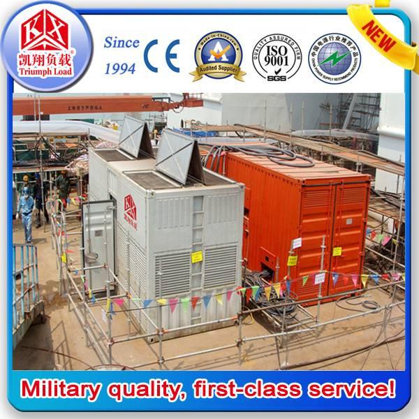 10.5KV 2500KW High Voltage AC Resistive Load Bank