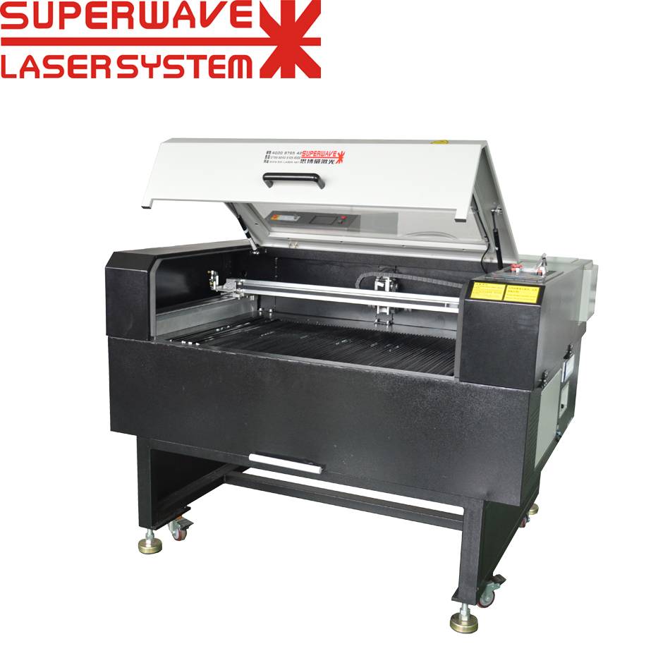 Widely Used Fabric and Cloth Film Laser Cutter 100W Auto Feeding CO2 Laser Engraving and Cutting Mac