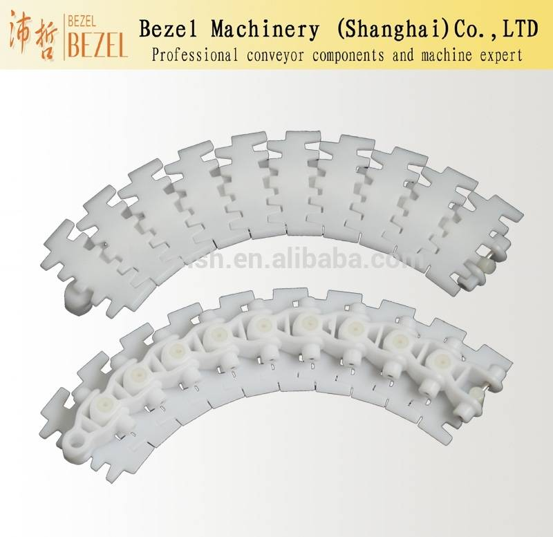 Flexible chains Plastic flat top chains