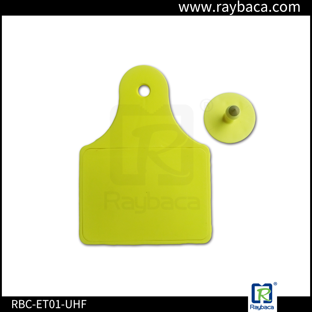 RBC ET01 UHF cattle RFID electronic ear tag