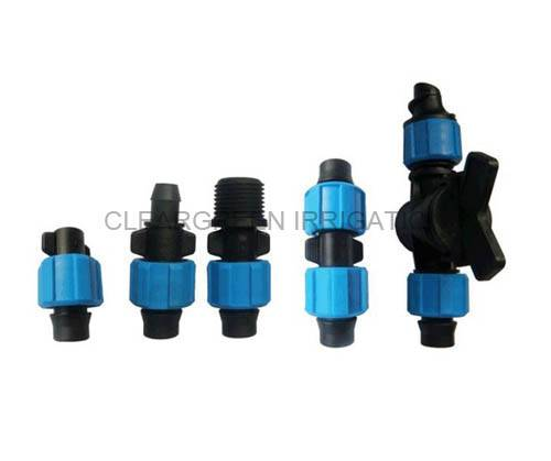 Drip Tape Fittings for Irrigation