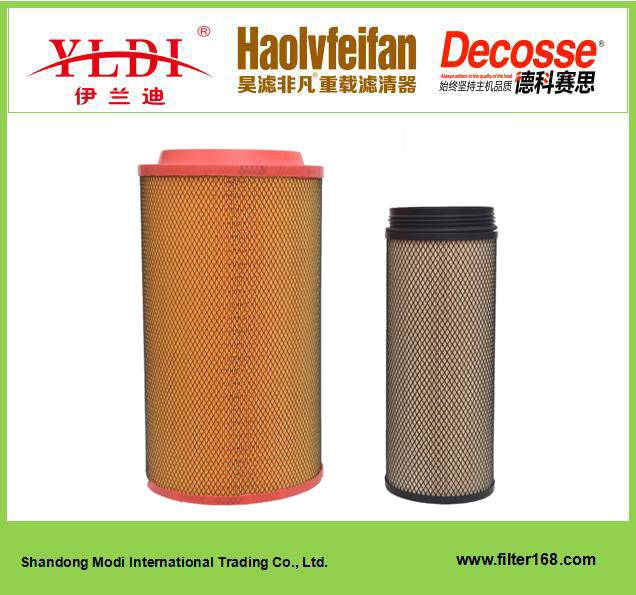 AUMAN Diesel Engine Spare Part KLP3051 Air Filter