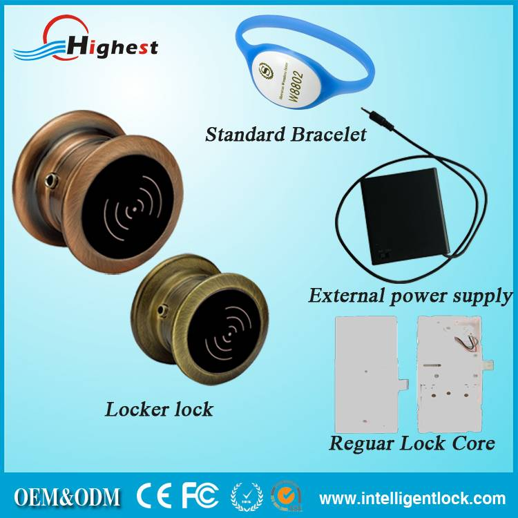 China Supplier Of Popular Rfid Swimming Pool Locker Lock For Security