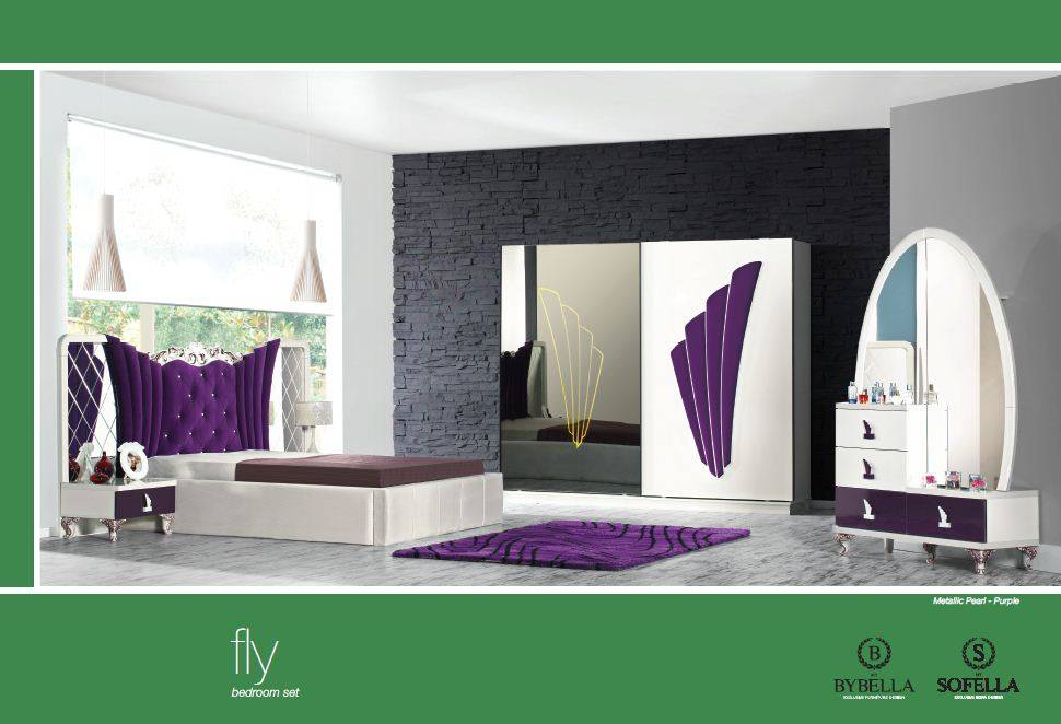 Fly Bedroom set