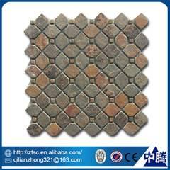 wholesale floor decoration irregular natural stone mosaic