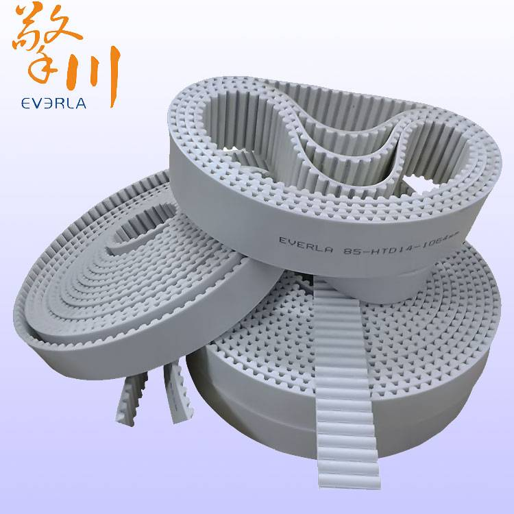 Belt Tooth Shaped Synchronous Belt 14mtd Non Slip Polyurethane PU Belt Conveyor Belt Conveyor Belt W