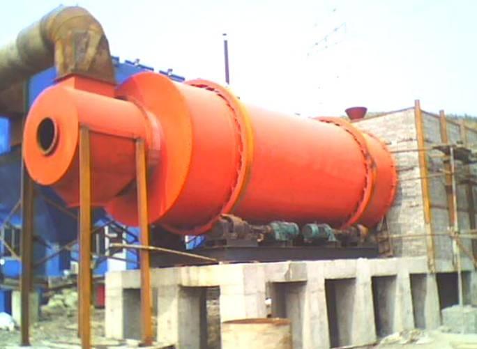 Triple pass rotary dryer