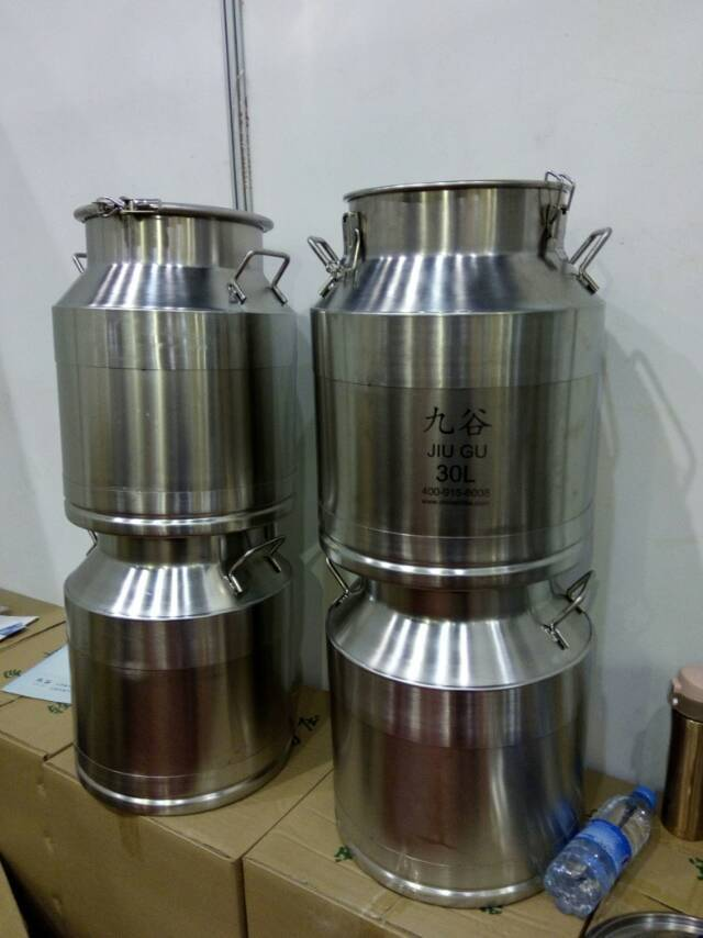 30L stainless steel milk bucket