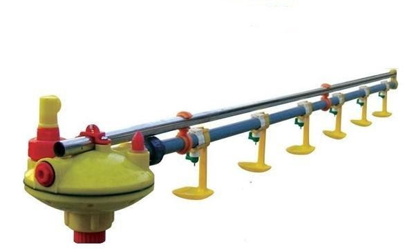 Poultry farm nipple drinkers water tubes water cups