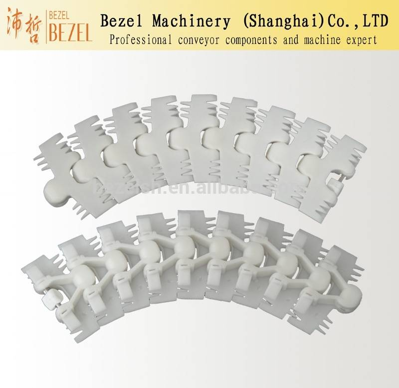 Conveyor belt flexible plastic Drag Chain