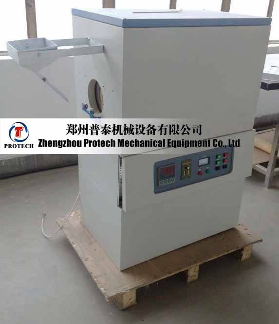 Protech high temperature 1600c rotary tube kiln for compounds
