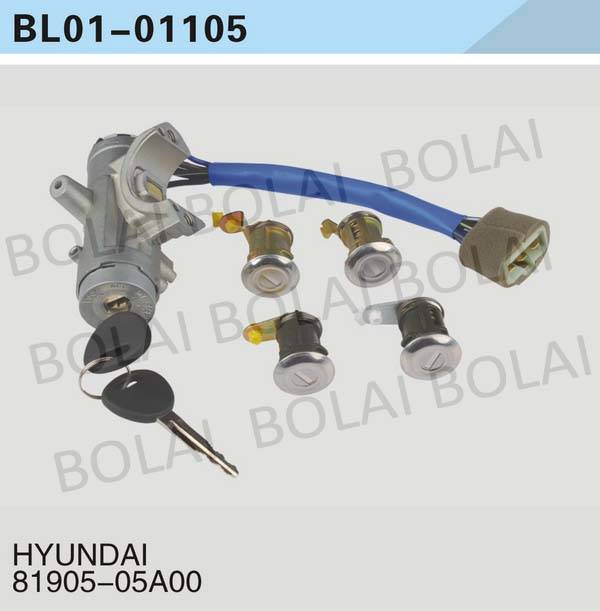 USE FOR HYUNDAI  KEY SET/IGNITION SWITCH 81905-05A00