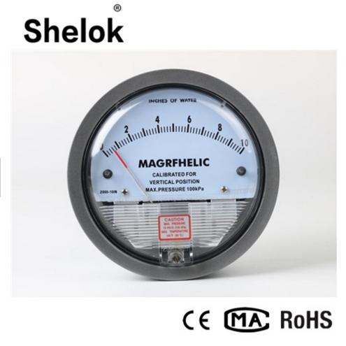 2000 Differential Pressure Gauge Manometer