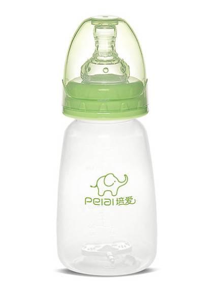 150ml Standard PP square shape little feeding bottle