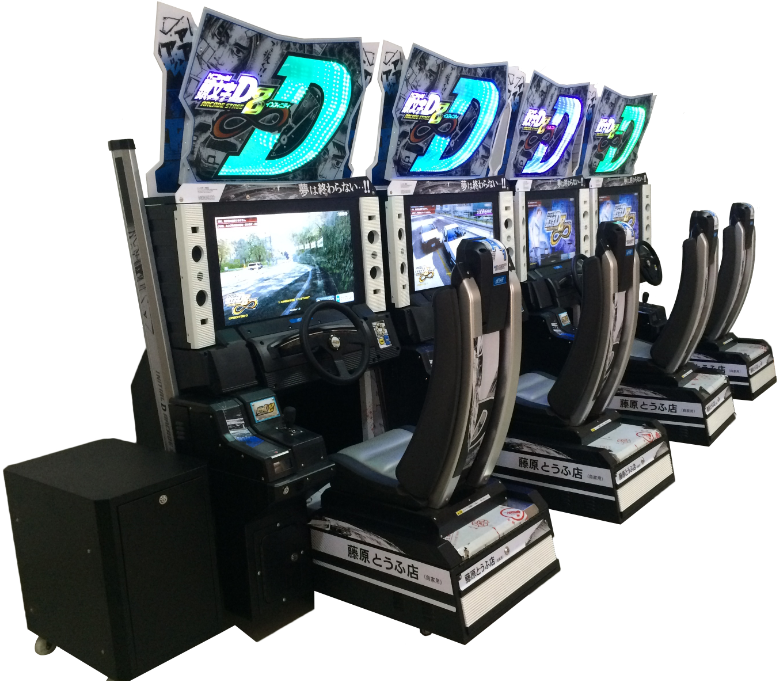 Initial D 8 Electronic Car Racing Game Machine Amusement Equipment Dedicated Machine