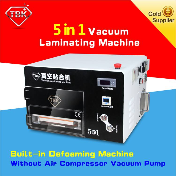New arrival LCD OCA vacuum laminating machine with build-in bubble remove machine for iphone samsung