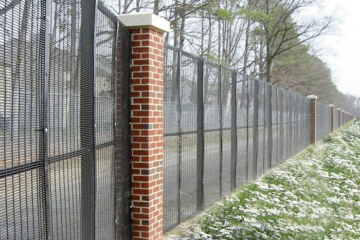 Hot sales 358 high security fence manufacturer