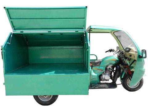 Bajaj Auto Rickshaw garbage dumper 3 wheelers motor tricycle BA200ZH-G