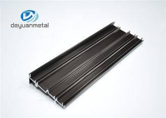 Bending / Cutting Deep Process 5.95 Meter Aluminium Extruded Profiles For Office Building