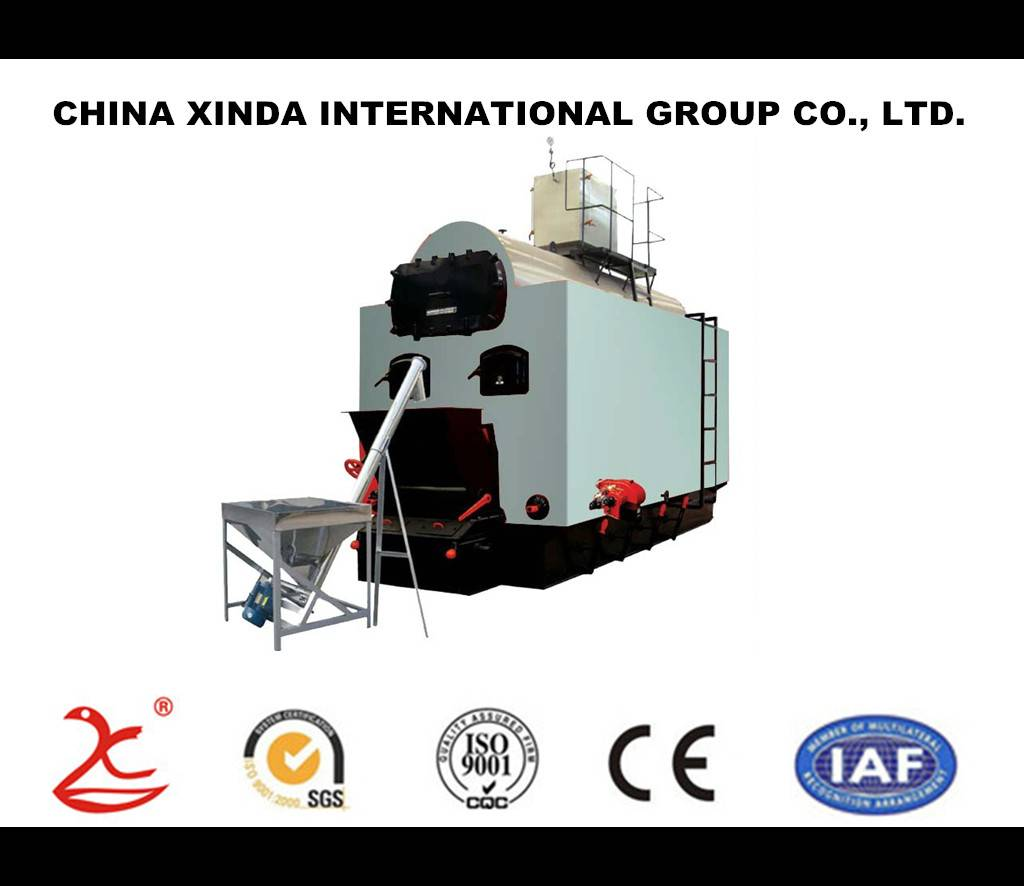 6 ton wood fired rice husk fired biomass steam boiler for chicken house heating