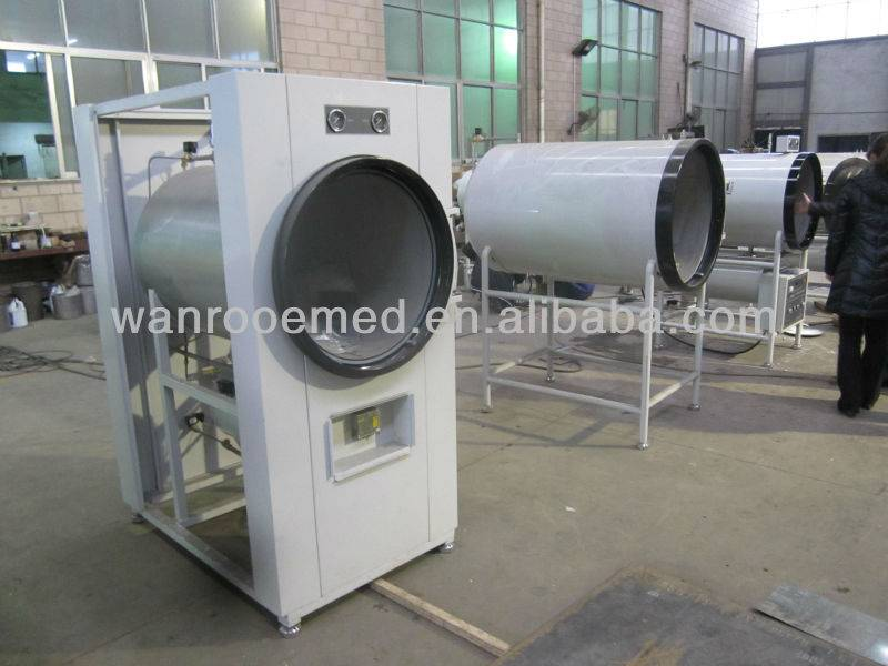 Horizontal cylindrical Steam Sterilizer
