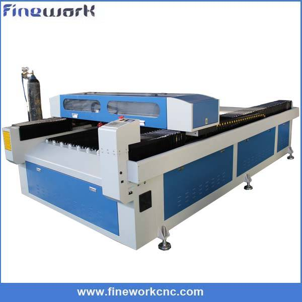 2mm stainless steel cutter 30mm acrylic and wood laser cutting machine FW-1325