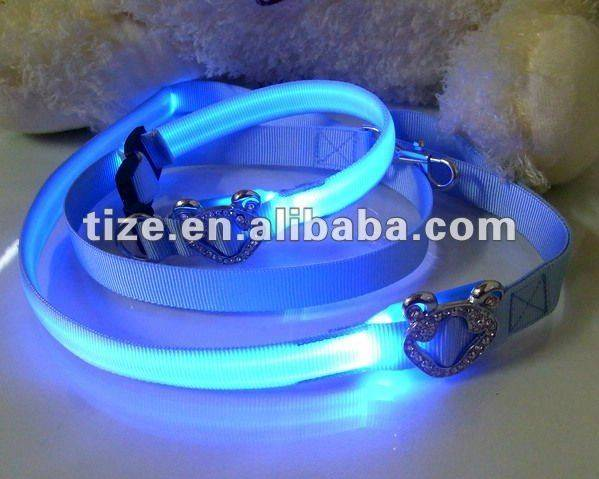 LED dog leash TZ-PET5203G Leash for dog