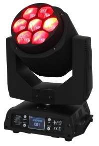 Sharpy mini bee eye 7pcs 15w 4in1 rgbw led Disco Dj wash beam moving head stage light