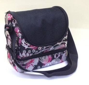 double layer 600D polyester  insulated cooler bag food bag manufacture