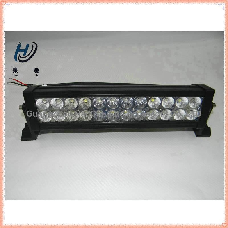 pure white 4x4 high lumens offroad led light bar