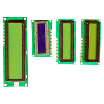 16 x 2 LCD Character Modules
