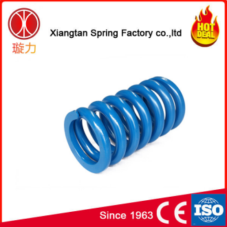 Factory direct high elasticity large wire diameter helical coil spring for train
