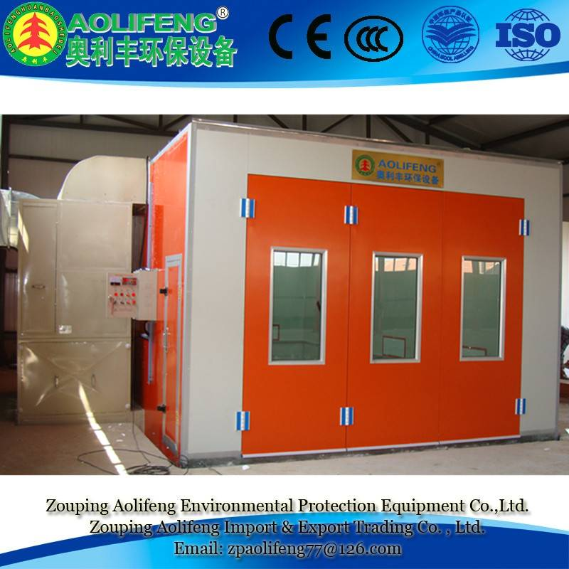 spray bake booth coating oven